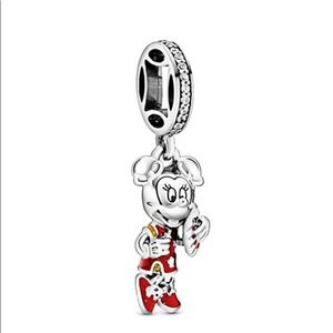 MINNIE MOUSE SILVER CHARM